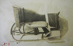 Składany wózek boczny