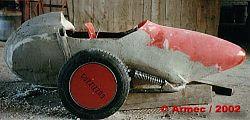 Współczesny sidecar firmy Armec