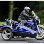 BMW K100 z wózkiem bocznym zdjęcie 3