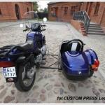 BMW K100 z wózkiem bocznym zdjęcie 5