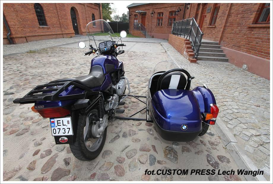 Bmw K100 Z Wózkiem Bocznym Wózki Boczne Do Motocykli Polski