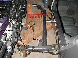 Flexit sposób mocowania wózka