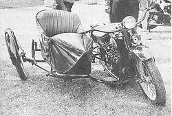 Pierwszy wózek w systemie wahliwym
