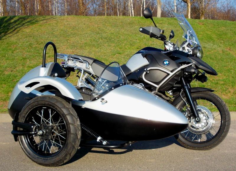 BMW K100 z wózkiem bocznym zdjęcie 1