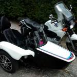 BMW K100 z wózkiem bocznym zdjęcie 2